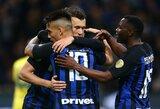 """Italijoje – užtikrinta """"Inter"""" pergalė"""