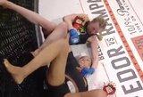 """Išskirtinį išėjimą pademonstravusi """"Bellator"""" čempionė ketvirtą kartą apgynė titulą"""