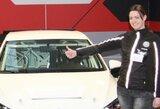 "Lietuvos lenktynininkų dirbtuvėse – naujutėlaitis ""VW Golf GTI TCR"""