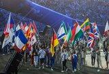 Europos žaidynių uždarymo ceremonija skaičiais