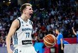 Slovėnija sulaukė puikių naujienų: L.Dončičius padės nacionalinei komandai olimpinėje atrankoje
