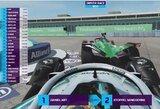 """Skandalas virtualiose """"Formulės E"""" lenktynėse: staiga """"pagreitėjęs"""" D.Abtas pagautas sukčiaujantis"""