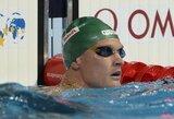 Olimpietis plaukikas M.Sadauskas baigia profesionalią karjerą