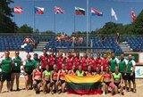 Lietuvos merginų paplūdimio rankinio rinktinė Europos čempionate liko aštunta, vaikinų – dvylikta