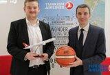 """LKL pratęsė bendradarbiavimą su """"Turkish Airlines"""""""