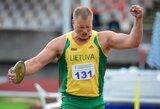 IAAF sumažino olimpinius normatyvus: A.Gudžius pateko į olimpiadą