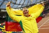 """A.Gudžiaus tikslai aiškūs: Tokijo olimpiados medalis ir """"pakrutintas"""" pasaulio rekordas"""