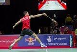 """K.Navickas """"Grand Prix"""" serijos badmintono turnyre Kanadoje nugalėjo pirmojo šimtuko žaidėją"""