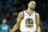 """Fantastiško S.Curry žaidimo nepakako – """"Warriors"""" pralaimėjo paskutinę pratęsimo sekundę"""