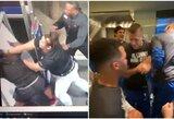 """Vagį pargriovusi ir iš darbo atleista moteris sulaukė išskirtinės UFC prezidento dovanos, """"Mavericks"""" puolėjas pabandė atkartoti C.McGregoro judesį"""