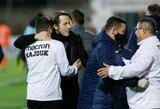 Naujasis M.Nikoličiaus klubas po žiemos pertraukos sugrįžo pergalingai