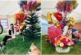 Brangus žiedas ir šimtai gėlių: paskaičiuota, kokios vertės dovanų sulaukė 18-ąjį gimtadienį minėjusi A.Zagitova