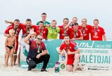 """Igol"" triumfavo Lietuvos paplūdimio futbolo čempionate"