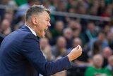 """Š.Jasikevičius: """"Esame labai netoli pačių geriausių Europos komandų"""""""