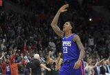 """Beprotiškoje mačo pabaigoje išsigelbėjo """"Clippers"""" komanda"""