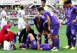 """""""Fiorentina"""" prarado pirmuosius taškus (+ kiti rezultatai)"""
