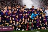 """""""Barcelona"""" prezidentas J.M.Bartomeu: """"Mūsų tikslas – iškovoti """"treblą"""""""