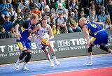 Lietuvos moterų 3x3 krepšinio rinktinė nepateko į Europos čempionatą