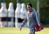 """U.Emery įsitikinęs: """"Arsenal"""" žaidėjai tiki manimi"""""""