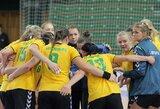 Lietuvos moterų rankinio rinktinės laukia dvikovos su baltarusėmis
