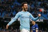 """B.Silva apie """"Manchester City"""" šansus: """"Galime laimėti likusius tris titulus, bet galime ir visus juos matyti kaip savo ausis"""""""