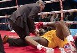 Po tragiškai vos nesibaigusios A.Stevensono kovos smegenų gydytojai ragina uždrausti boksą