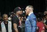 Arabų žurnalistas: C.McGregoras ir F.Mayweatheris MMA narve kovos pagal neįprastas taisykles