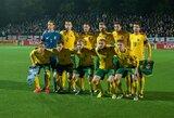 E.Jankauskas paskelbė išplėstinį Lietuvos futbolo rinktinės sąrašą