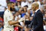 """Z.Zidanas: """"K.Benzema jau pratęs prie kalbų apie pardavimą"""""""
