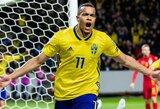Europos čempionato atrankoje – Švedijos pergalė prieš Rumuniją