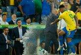 """Brazilijos rinktinės puolėjui G.Jesusui dėl įsiūčio priepuolio """"Copa America"""" finale skirta dviejų mėnesių diskvalifikacija"""
