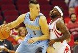 """D.Gallinari apkartino """"Rockets"""" sezono pradžią"""