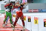 Pasaulio biatlono taurės etapą pergalingai baigė Rusijos vyrai ir Vokietijos moterys