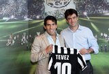 """Oficialu: C.Tevezas tapo """"Juventus"""" klubo nariu"""