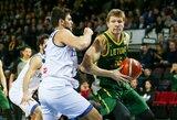 Lietuviai atrankos turnyrą baigė revanšine pergale prieš italus