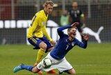 Po Italijos fiasko atsistatydino ir šalies futbolo federacijos vadovas