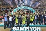 Eurolygos čempionai iškovojo Turkijos Supertaurę