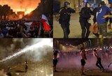 Prancūzų triumfą temdo riaušės Paryžiuje: žuvo jau du žmonės