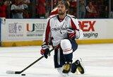 Kaip pasikeitė vieno geriausių NHL ledo ritulininkų A.Ovečkino žaidimas?