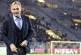 """""""Borussia"""" direktorius: """"Nesilankstysime terorui ir žaisime dėl M.Bartros"""""""