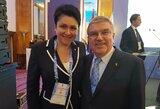 D.Gudzinevičiūtei –  Europos olimpinių komitetų asociacijos pripažinimas