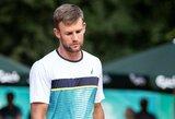 Dvigubą klaidą lemiamu metu padaręs L.Grigelis krito prieš šeštojo šimtuko žaidėją ir užbaigė Lietuvos rinktinės sezoną