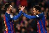 """Neymaras išplatino emocingą žinutę: """"Barcelona"""" ir Katalonija visada bus mano širdyje, bet man reikia naujų iššūkių"""""""