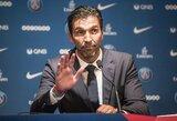 """G.Buffono išpažintis: """"Jei ne PSG, """"Barcelona"""" ar """"Real"""" skambučiai, jau būčiau pasitraukęs"""""""