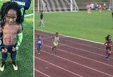Naujasis U.Boltas? 7-metis fenomenas greičiu pribloškė pasaulį