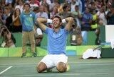 Epiniame teniso mūšyje Rio de Žaneire – R.Nadalio stebuklai ir J.M.Del Potro triumfas