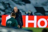 """Z.Zidane'as sėdi ant karštosios kėdės: """"Real"""" jau žino, kuo pakeistų prancūzą"""