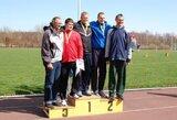 Palangoje įvyko Lietuvos ilgų metimų žiemos čempionatas