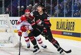 Kanadiečiai sutriuškino danus ir išsaugojo viltis laimėti A grupę