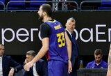 """Š.Jasikevičius su """"Barcelona"""" dramatiškai pralaimėjo Supertaurės finalą"""